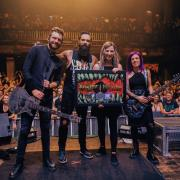 Multi Platinum Certifications For Skillet