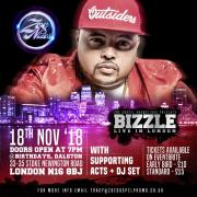US Rapper Bizzle Performing Live In London This November