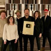 Casting Crowns Receives YouTube Gold Button Award; Two New RIAA Gold Singles