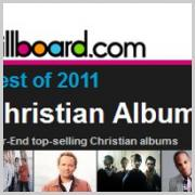 Casting Crowns, Chris Tomlin, Tenth Avenue North & Kirk Franklin Top 2011 Billboard Charts