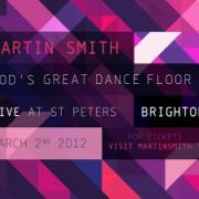 Martin Smith Launches Debut Solo EP 'God's Great Dance Floor' On Friday With First Gig