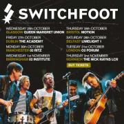 Switchfoot Announce Extra Dates For UK Tour, Tickets On Sale Today