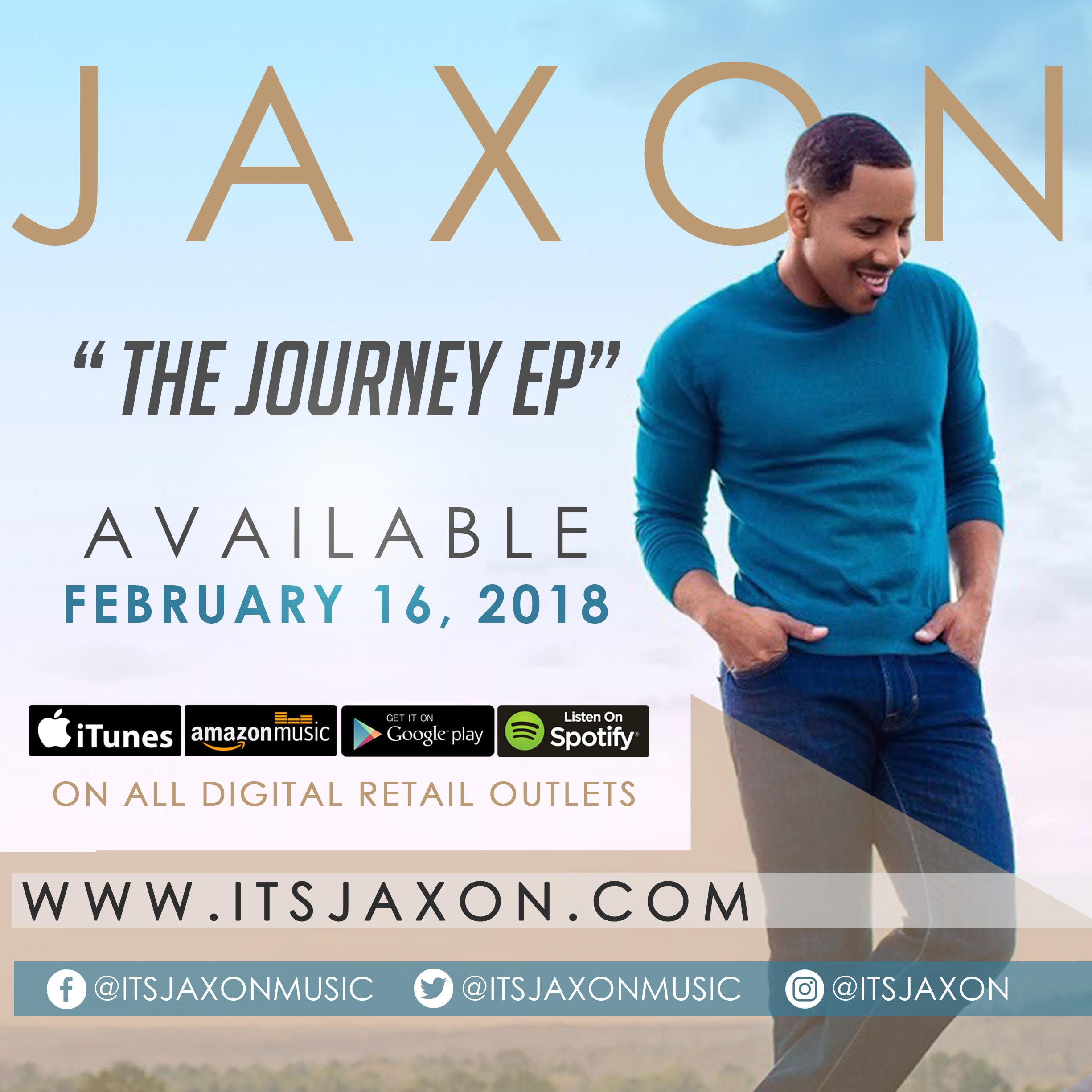 Jaxon To Release 'The Journey'