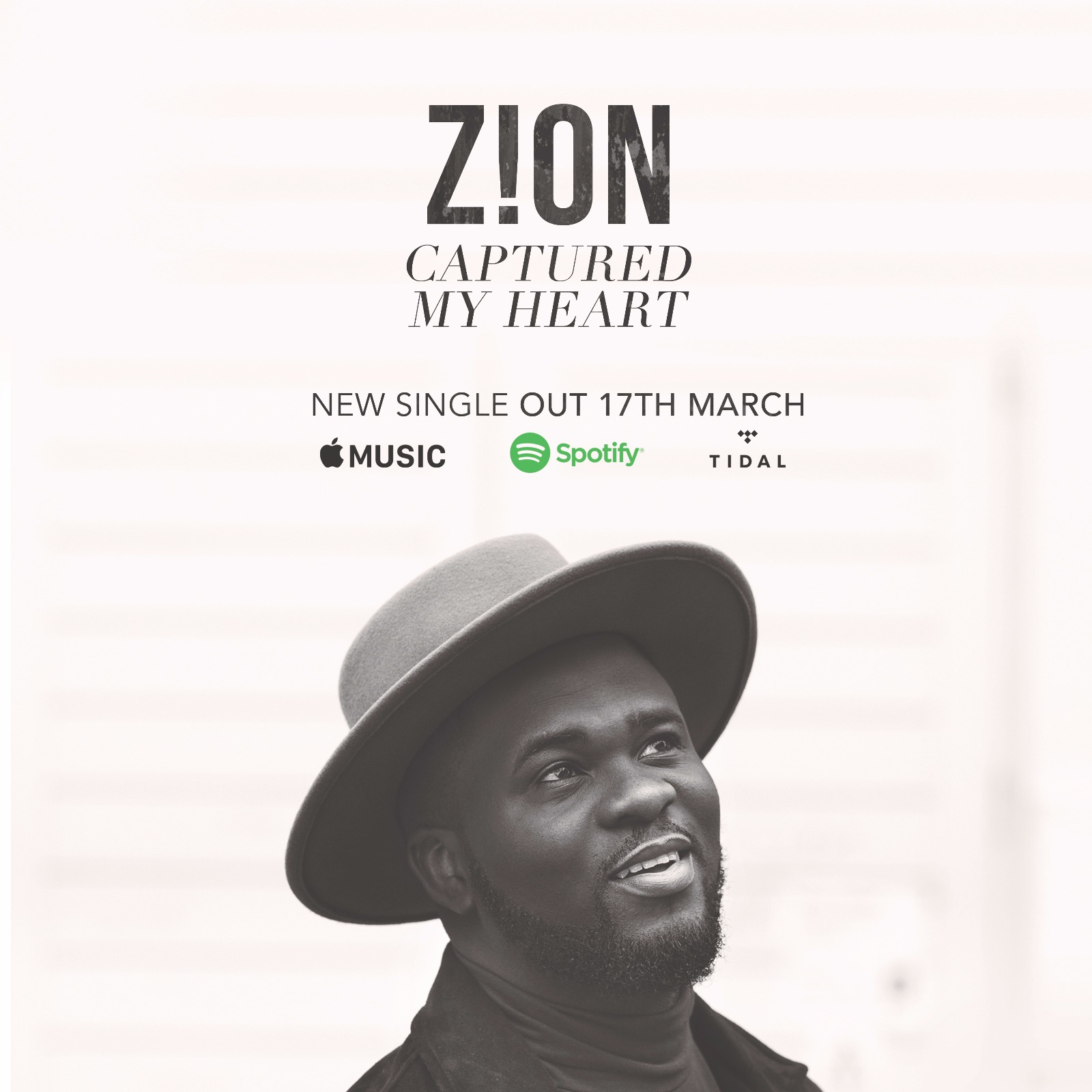 BBC Introducing Artist Zion Announces New Single 'Captured My Heart'