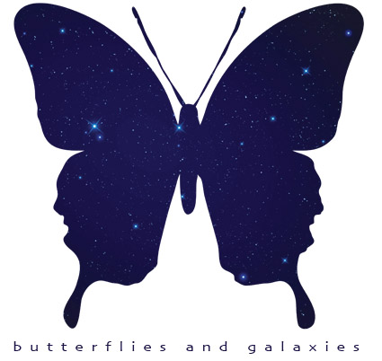 Treasure Field - Butterflies and Galaxies