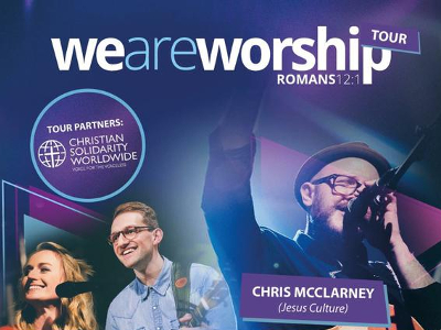 Luke Hellebronth, Lou Fellingham & Chris McClarney Join For We Are Worship UK Tour